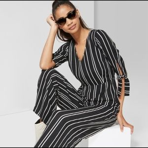 Wild Fable Striped Jumpsuit One Piece